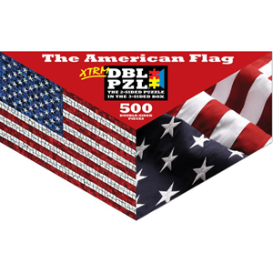 American Flag 500-piece Double Puzzle