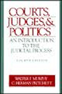 Courts, Judges & Politics PB