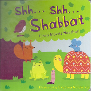 Shh...Shabbat Board Book for Young Children