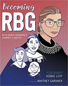 Becoming RBG, a graphic novel of the evolution of an icon
