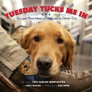 Tuesday Tucks Me In: a Military Service Dog Takes Care of his Veteran Master