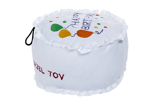 Chewish Treats Plush Birthday Cake