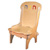 Personalized Hebrew Wooden Chair
