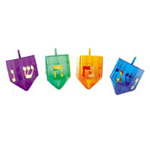 Refillable Plastic Dreidel