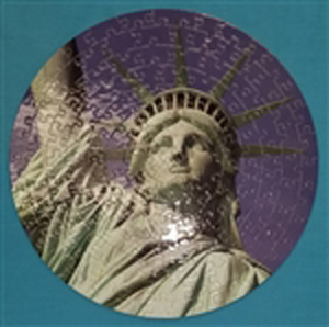Statue of Liberty Puzzle in the Round