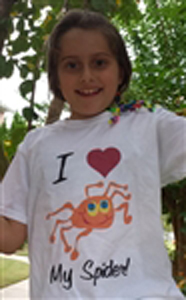 I Love My Spider T-shirt Youth S