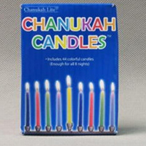 Candles for Hanukah