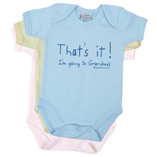 That's it! I'm going to Grandma's - Onesie and Tee