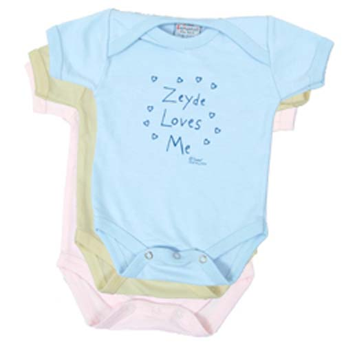 Zeyde Loves Me Tee Shirt