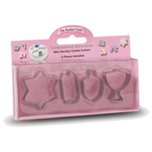 Jewish Holiday COOKIE CUTTERS-MINI