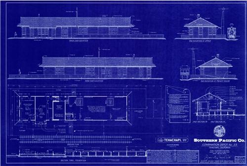 Depot blueprint tehachapi depot blueprint malvernweather Choice Image