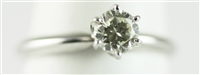 SOLITAIRE ENGAGEMENT RING 1/2 CT RBC