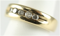 Mens Diamond Band with 1/2 ct