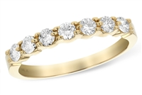 1/2 Carat Yellow Diamond Band