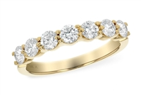 1 Carat Yellow Diamond Band