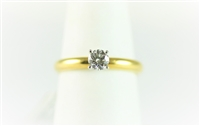 Tiffany Setting Round Solitaire Engagement Ring