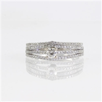 Round diamond .70ct tw  wedding set