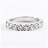 1ct diamond wedding band in 14K white gold