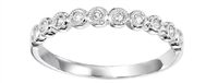 Stackable Round Diamond Band