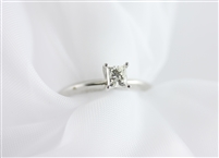 Solitaire Princess Diamond Ring