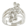White gold 14K .75ct. diamond ring