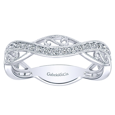 .26ct diamond wedding band in 14K white gold