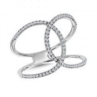 Entwined Wrap Fashion Ring