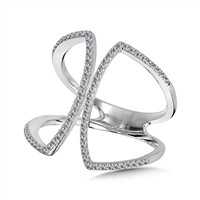 Open Wing Wrap Ring
