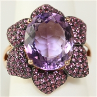 FASHION AMETHYST RING