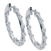 Diamond Hoops Earrings 1/2 carat