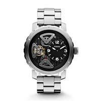 Nate Twist Stainless Steel Watch