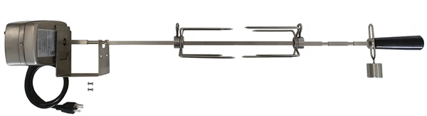 Weber Stainless Spit Set with 50# Electric Motor