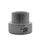 "OneGrill Chrome Steel Rotisserie Spit Rod Bushing (Fits: 5/16"" Square, 3/8"" Hexagon, & 7/16"" Round)"