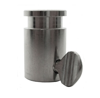 "OneGrill Chrome Steel Rotisserie Spit Rod Bushing (Fits: 1/2"" Hexagon, 3/8"" Square, & 1/2"" Round)"