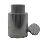 "OneGrill Stainless Steel Stepped Rotisserie Spit Rod Bushing  (Fits: 1/2"" Hexagon, 3/8"" Square, & 1/2"" Round)"