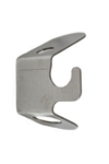 OneGrill Stainless Steel Dual Post Rotisserie Outboard Support Clamp
