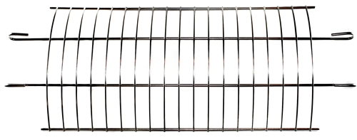 OneGrill Curved Rack Fits: Performer Series Universal Fit Grill Rotisserie Baskets (Models:5pb815,5pb816,5pb817)