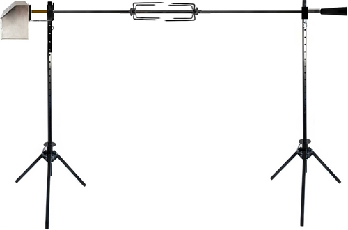 "OneGrill Premium 60"" Open Fire Tripod Rotisserie System"