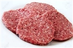 Ground Beef, Hamburger Patties - (4 per pack) ~ 1.5 lbs