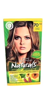 Placenta Life Naturals Permanent Hair Color Blonde 70/700