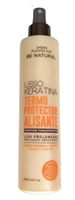 Placenta Life Be Natural Lisso Keratina Smoothing Thermoprotector for Straight or Frizzy Hair 250 ml./8.45 fl.oz.