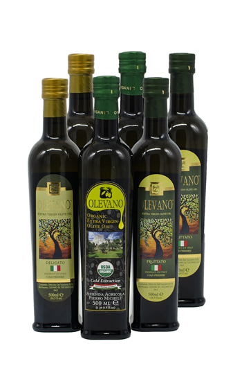 Mixed Case Extra Virgin Olive Oil from Italy