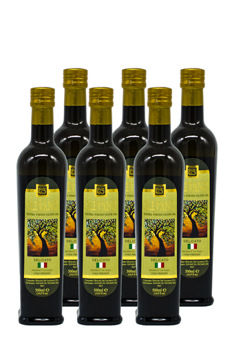 First Cold Press EVOO Delicato 6-500ml