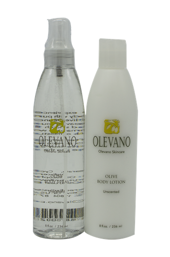 Olevano Olive Body Spray and Lotion Duo