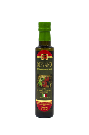 250ml Organic Roasted Tomato and Basil Infused Extra Virgin Olive Oil