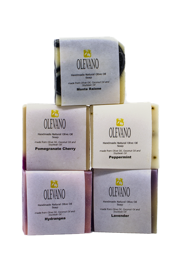 Handmade Olive Oil Soap - 5 bars