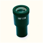 Wide field Eyepiece WF10x / 18, with reticule 10 mm / 100 parts. Adjustable lens