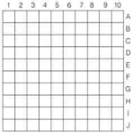 Numbered Grid 1.0mm pitch NE11A