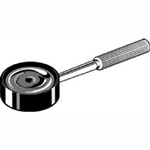 Magnifier with handle 4x