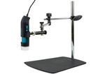Q-scope QS.MS45B Articulated-arm stand with unique 3D positioner